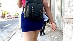 Mini Skirt Teen Mini Skirt . Ass Walking 3