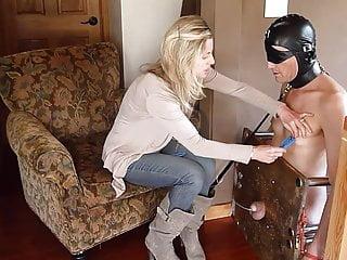 Doms bdsm Femdom heel cbt humiliation by sexy dom