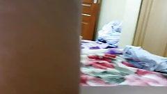 Sister Caught Masturbating By Brother, Up Close, Spy Camera
