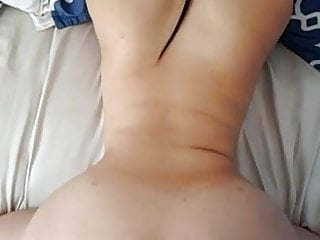 Fat wife doggy sex - Fucking her fat asian ass from behind in slomo