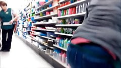 HIDDEN CAM YOUNG ADULT ROUND ASS IN JEANS C22AJ4