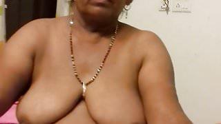 Indian mom sushila with big boob