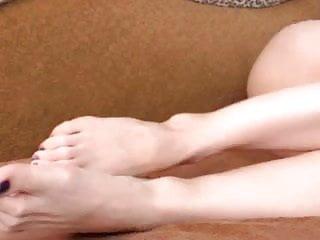 Latin sexy tv Feetstation tv : sexy feet purple toes