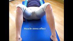SEXY athletics 1003(yoga cameltoe)