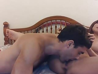 Chick dick got Asian chick got pussy lick fuck and creampied