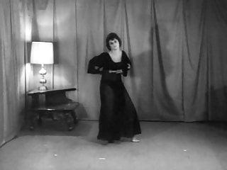 Retro cum shot tubes Beaver shot - vintage 60s striptease dance