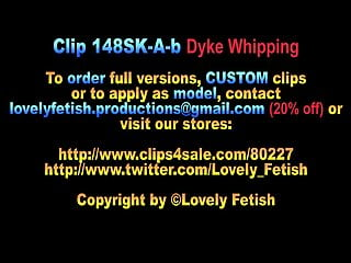 Ass tits clips Clip 148sk-a-b dyke slapping and whipping-11:44min, sale:12