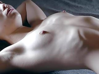 Breast ribs strenum protection Skinny girl shows her ribs 2
