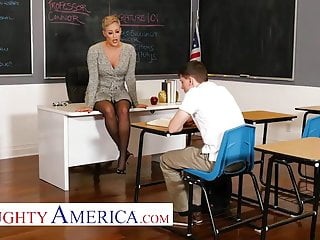 Virgins popping their cherry - Naughty america - prof. conner pops a cherry