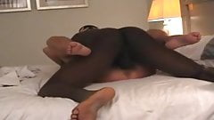 Granny Fucking a Young Black Fellow and Hubby Records