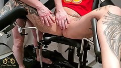 CrazyFetishCouple - Pussy Torture - Enema on the gyno chair
