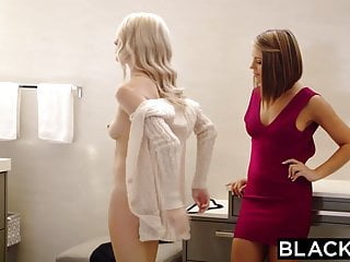 Black on top blonde on bottom Blacked adriana chechik and cadence lux first interracial