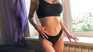 Mom With Big Tits Allowed To Fuck Her And Cum In Her Panties