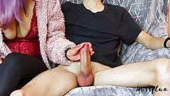 Edging Handjob Ruined Orgasm and Post Orgasm Torture A60