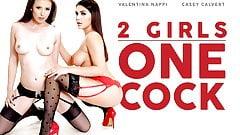 2 Girls, 1 Cock