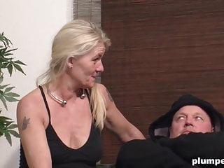 Breast irish women Threesome with chubby mature women and old irish man