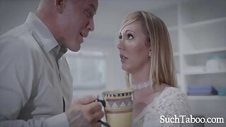 Dumb Blonde Secretary Gets Mistreated By Boss- Brett Rossi