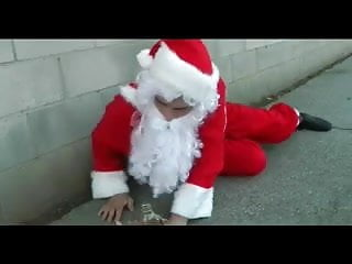 Erotic early teen - Cute teen gets an early present from santa