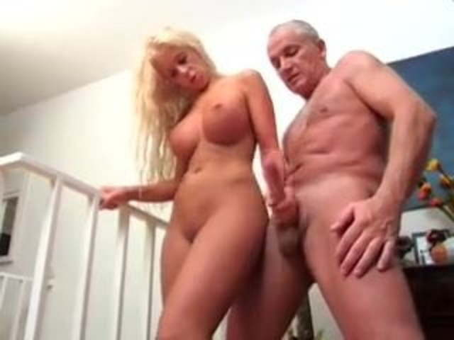 Blonde Milf Handjob Dirty Talk