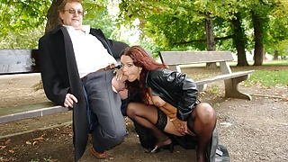 Hot young lady and Tim Wetman dogging in Prague