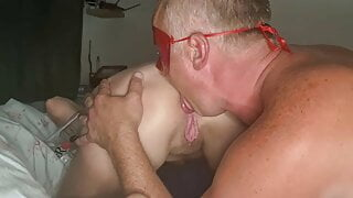 Rimming her ass makes me so horny. Ass licking couple