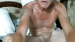 horny old man in cam
