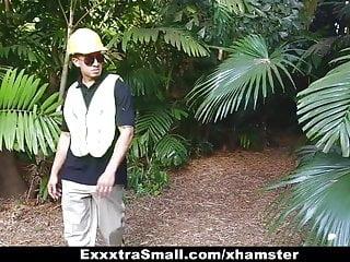 Free lumberjack porn - Exxxtrasmall - tree hugging teen fucks lumberjack