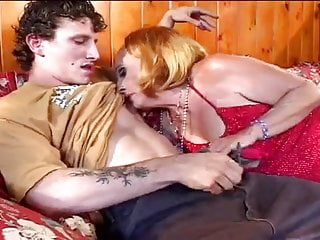 Gangbang grandmothers Horny grandmother sucks, fucks her grandson