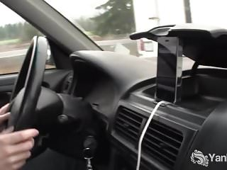 Lou bellera nude - Hottie lou masturbating in the car