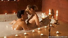 Erotic Blonde MILF and Indian Lover