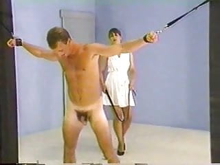 Alex lago naked full frontal Full frontal and back whipping by two merciless mistresses