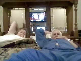 Grandma cock sucking grandpa Grandma suck grandpa on webcam