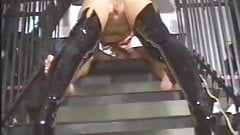 Vintage fuck in very sexy thigh boots!