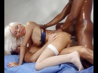 Anal bitch black Beautiful blond anal bitch takes big black cock dps