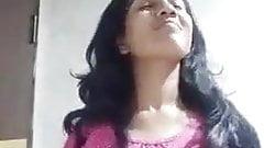 Indian girl boobs show for fun