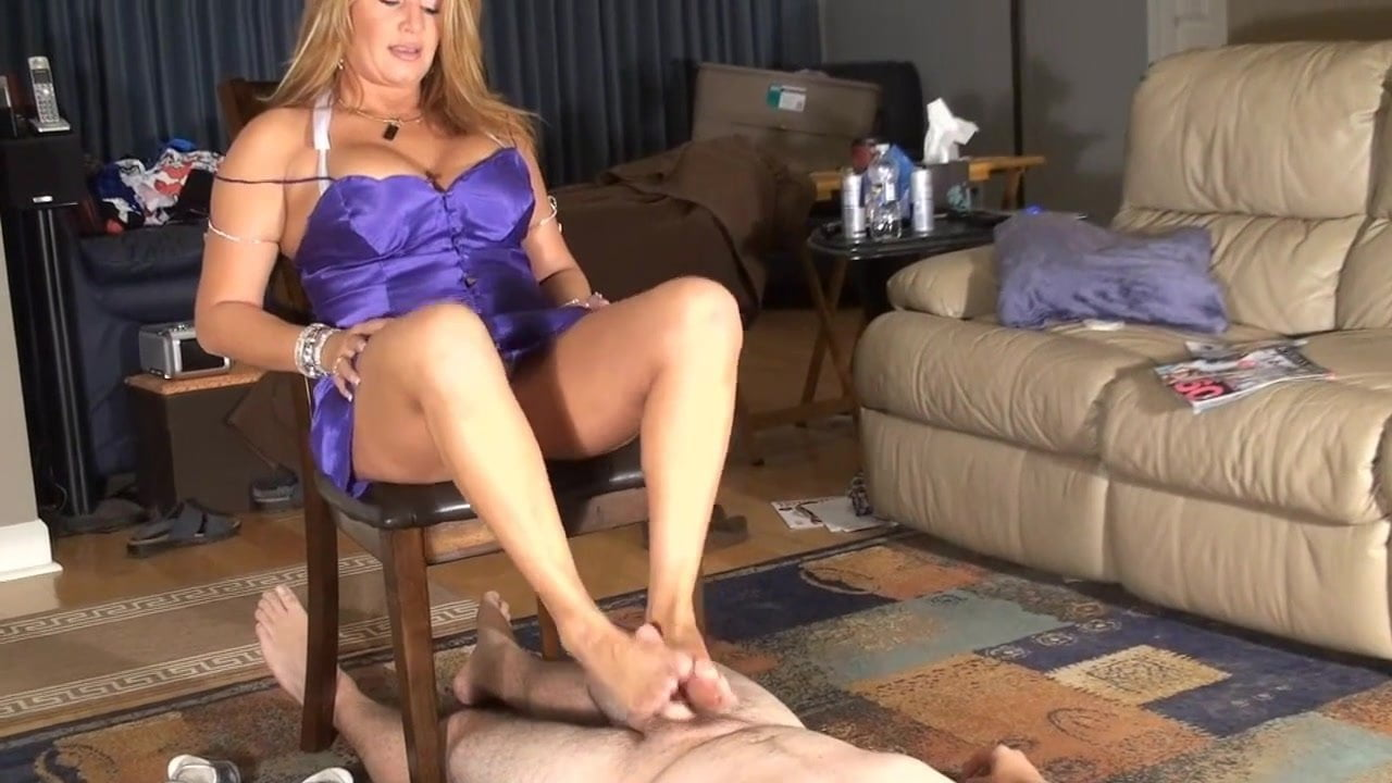 Step Son Helps Mom Shower