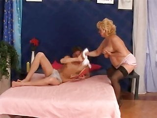 Black grannies fucking pornhub - Chubby granny in pink panties and black stockings fucks