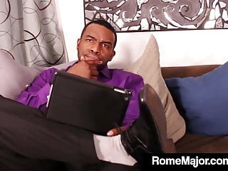 Ass cracker - Hot white cracker lena starr gets rome major big black cock