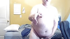 BHM Small Cock Fat On Bed Horny Dirty Nasty