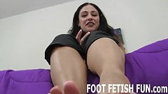I will show you how to pamper a womens feet right