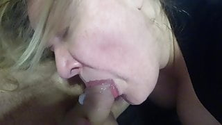 Messy Cum from german big Cock
