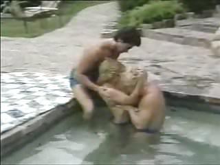 Greg gutfeld and homosexual Elaine southern, greg rome, peter north
