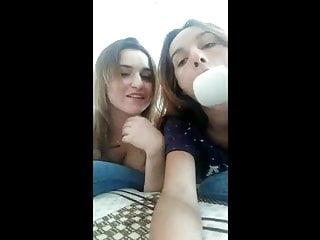 Natural girls having sex Periscope - polina55578 - 2 girls having fun