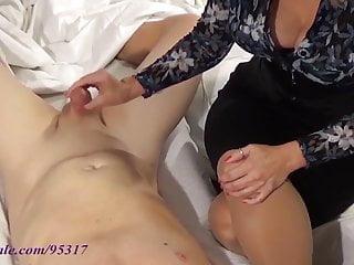 Orgasim denial cock teasing - Mommy tease and denial handjob