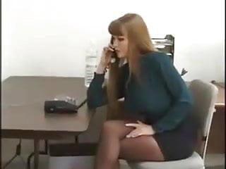 Green sweater secretary fucked - Green shirt secretary