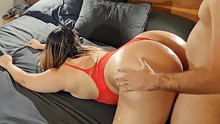 Sexy Milf Giving Blowjob And Fucking Doggystyle