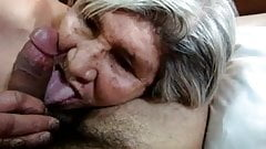 Latin Granny blowjob