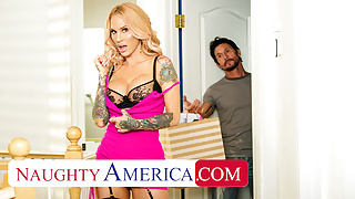 Naughty America - Sarah Jessie is on the hunt for a big cock