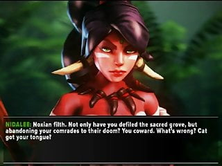Legend of zelda din hentai Nidalee 3d hentai game lol league of legends