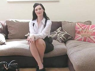 British sex milf Classy milf drilled at british sex casting
